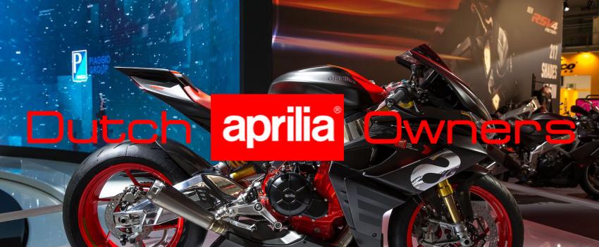 Vanaf januari 2019 is Dutch Aprilia Owners actief op internet