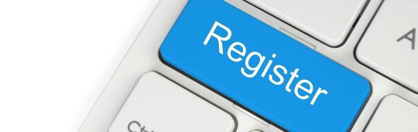 Registratie is vanaf nu mogelijk